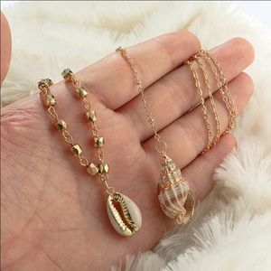 Gorgeous Shell Layered Necklace